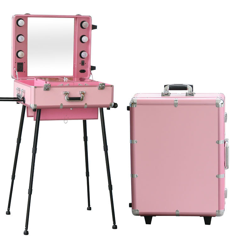 Delightful A Professional Makeup Case For Makeup Artists And Stylists, This Fully Portable  Makeup Station Means You Can Work Anywhere, Especially With Legs To Make  Use ...