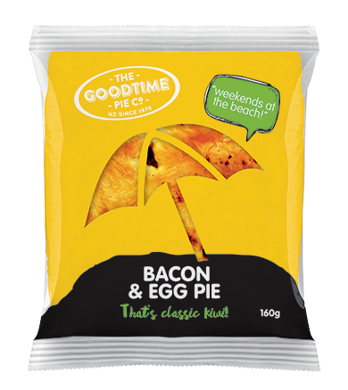 GOODTIME CLASSIC 210G BACON AND EGG PIE