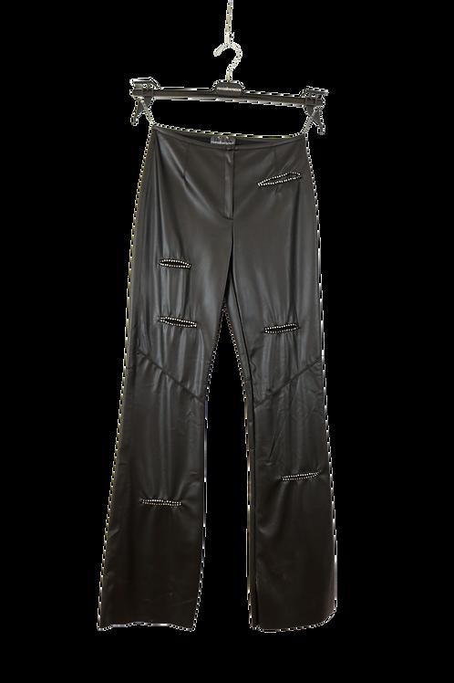 Roccobarocco - Δερμάτινο Παντελόνι