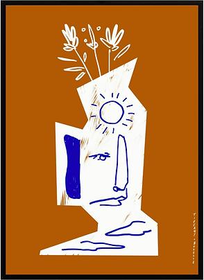 artiste peintre parisienne Tiffany Bouelle Amelie Maison d'art Studio Miracolo