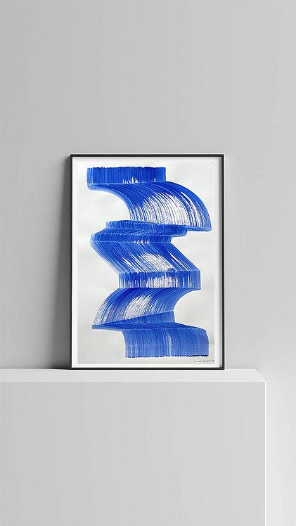 "ETUDE II ""La femme objet bleu"" 2021"