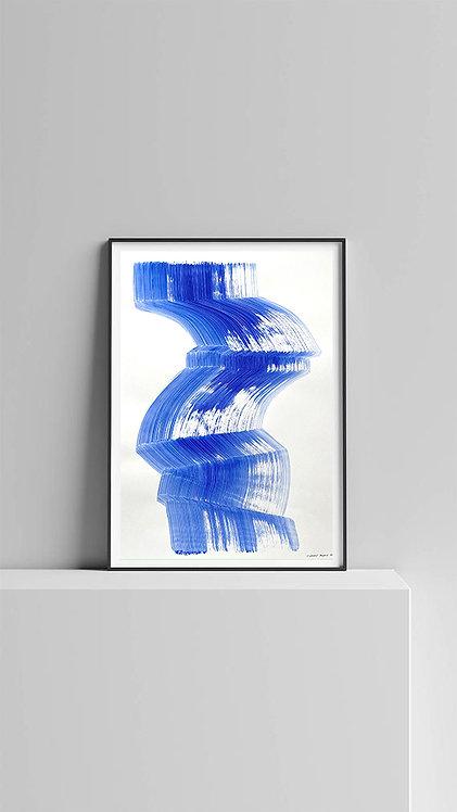 """ETUDE IV """"La femme objet bleu"""" 2021"""