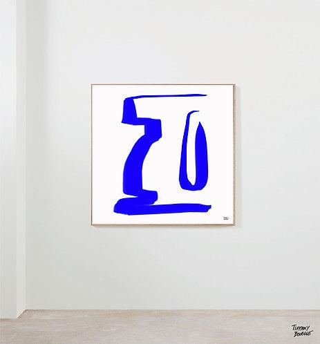 """LIMITED EDITION """"Vase Bleu"""" - 2021"""
