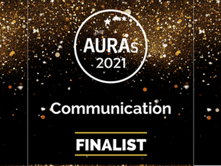 We've been nominated: AURA 2021 Awards
