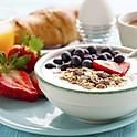 Birchermüesli 7 (based on oats, fresh fruits and cream)