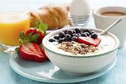 Petit-déjeuner sain