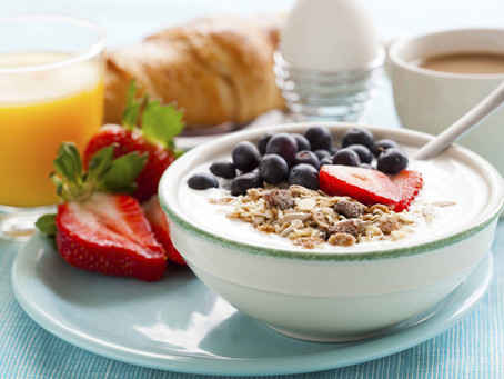 Yogurt Parfait - Power Meal Tastes Like Dessert!