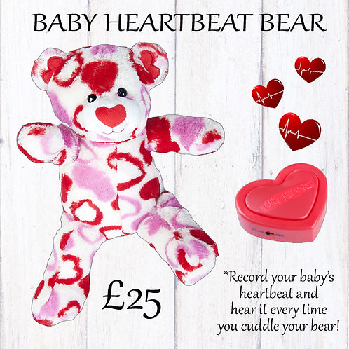 Baby Heartbeat Bear Gift Set