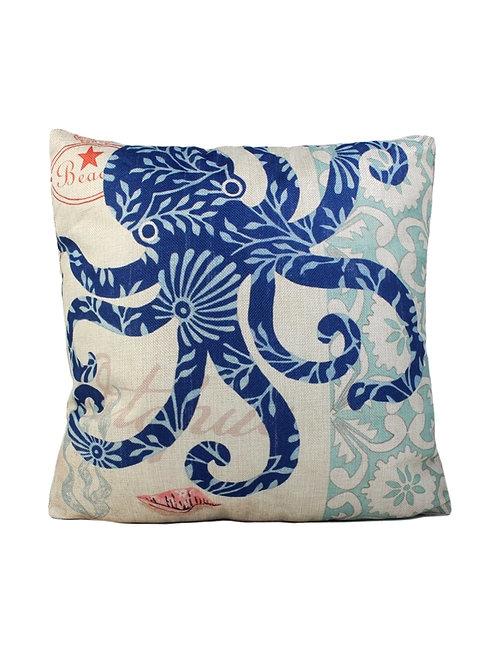 Beach Print Cushion
