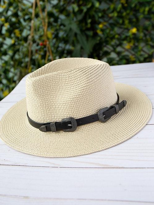 Fedora Hat in Cream