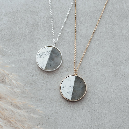 Duality Necklace in silver