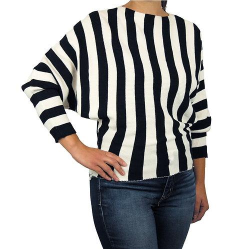 Striped Ladies Sweater