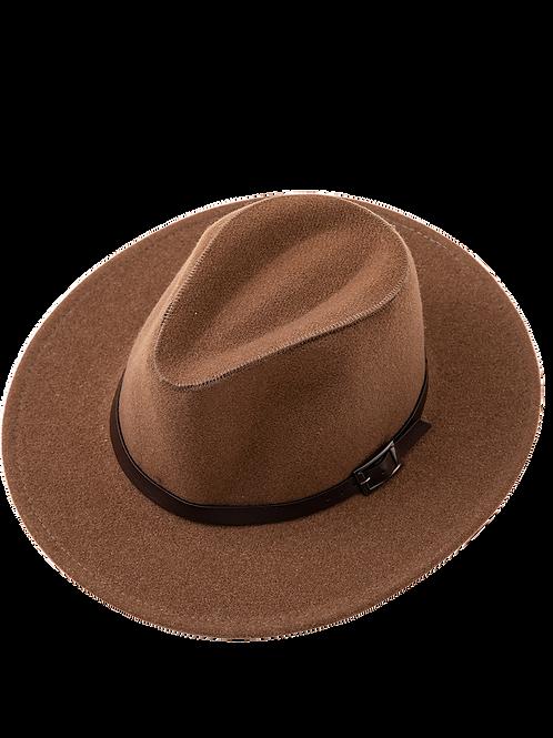 Felt Hat - Brown
