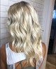 This incredible cool platinum blonde was