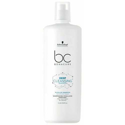 Schwarzkopf BC Deep Cleanse Shampoo 1L