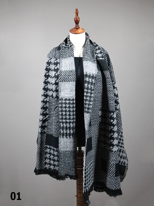 Houndstooth Fashion Wrap