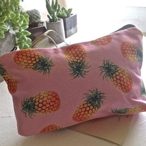 Pika and Bear Cosmetic Bag