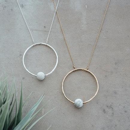 Solo Necklace - silver