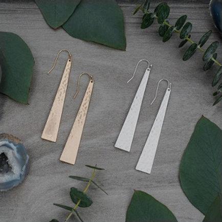Free Spirit Earrings - silver