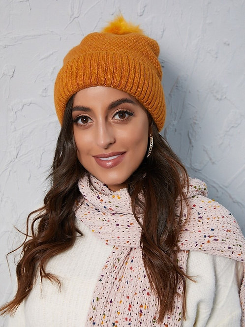 Bright and Cheerful Toque