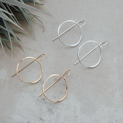 Varina Earrings - gold