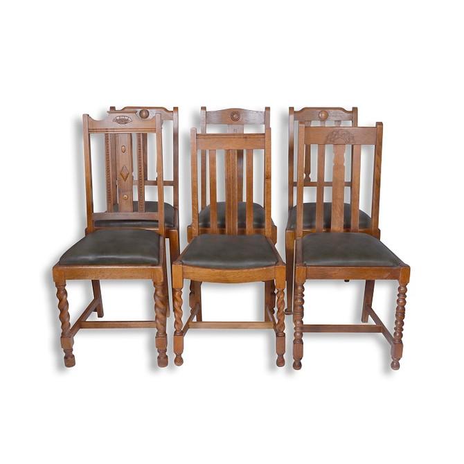 מוצר השבוע: 6 כסאות אוכל משופצים