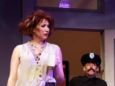 Amanda as network executive Diane in 'I Hate Musicals: The Musical'