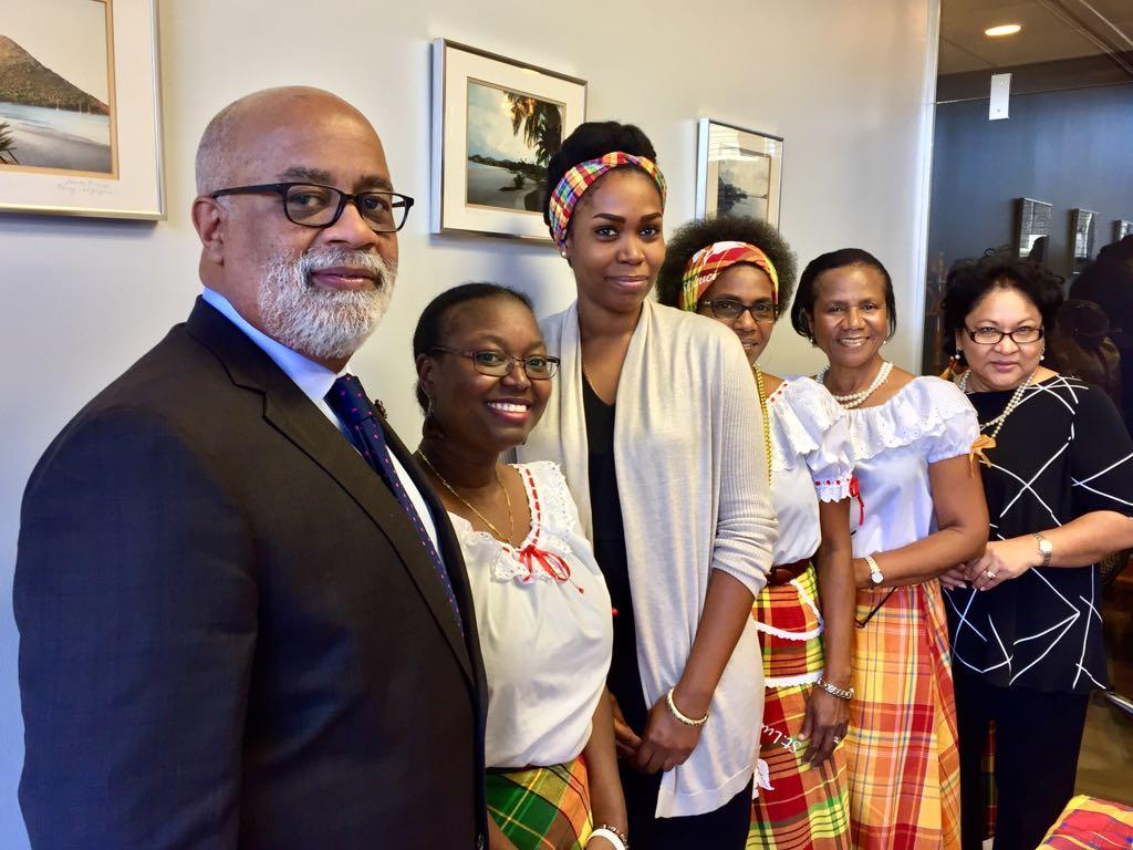 Jounen Kweyol at the Embassy
