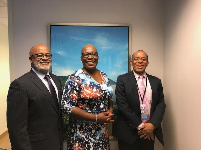 Meeting with Minister Rigobert