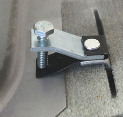 Slot-Klip easily fits into cut slot for mounting