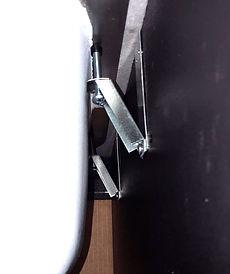 Installed Sinkits E-Brackt
