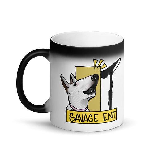Matte Black Magic Logo Mug