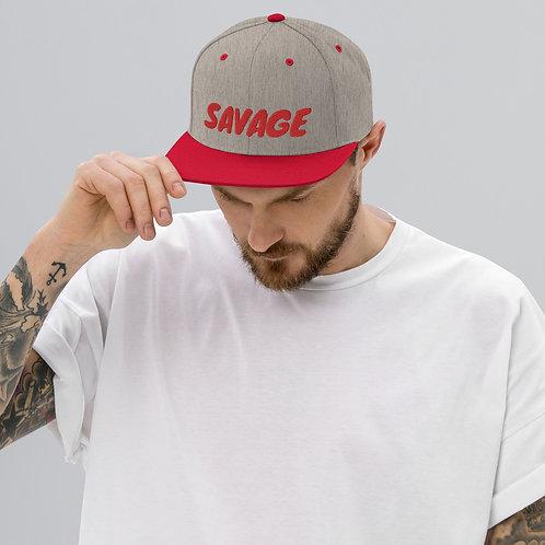 Snapback Savage Hat