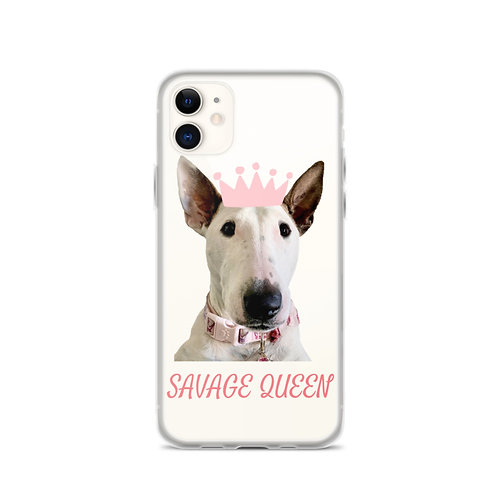 Savage Queen iPhone Case