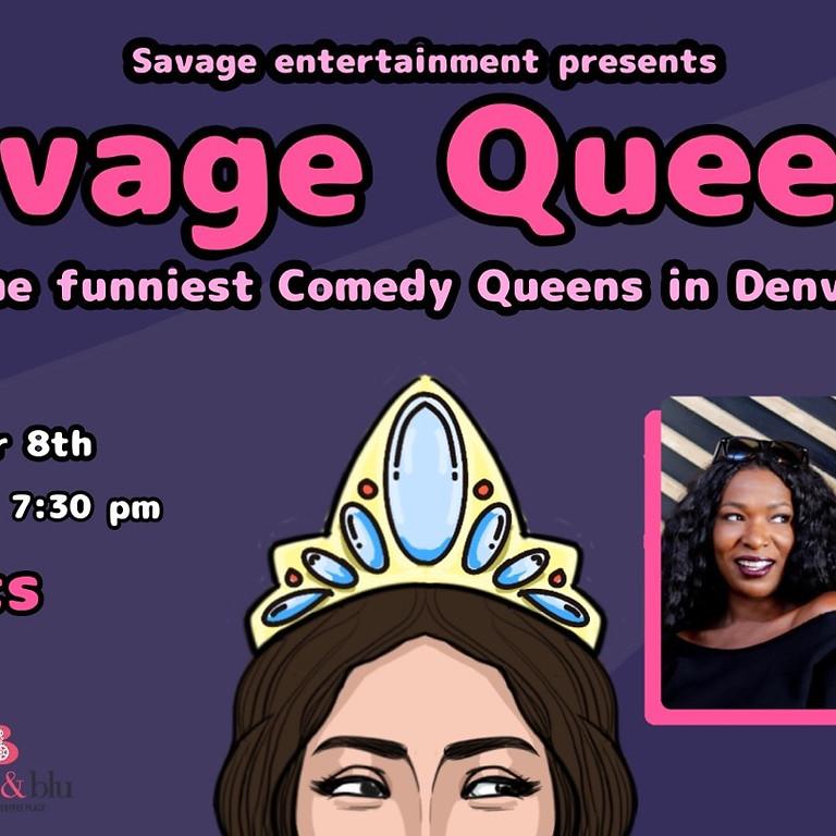 Savage Queens Comedy Show: Salma Zaky