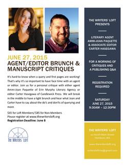 2015-06-27 Agent Editor Brunch
