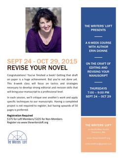 2015-09 Revise Your Novel