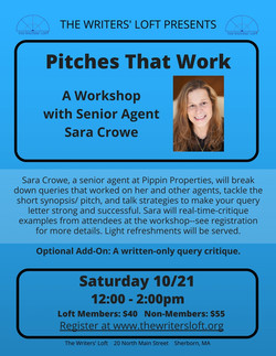 Sara Crowe Workshop