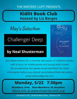 KidLit Book Club 5.22