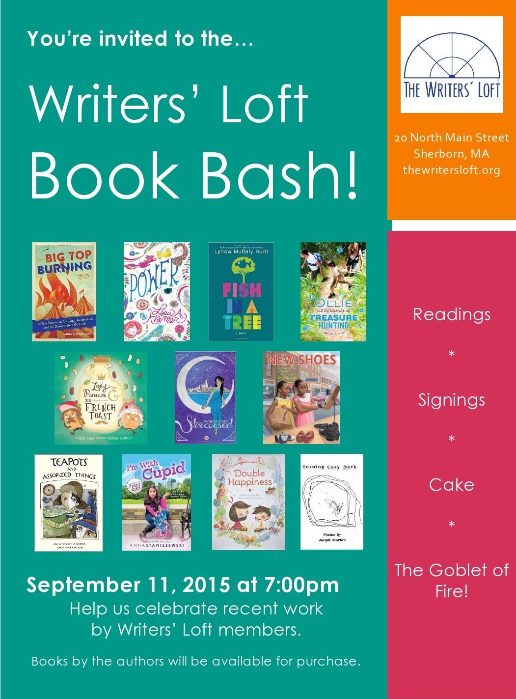 2015-09-11 Book Bash