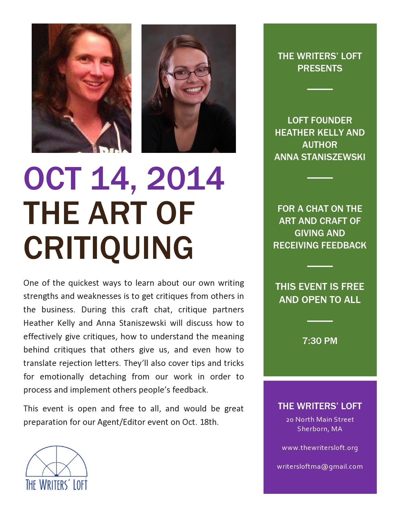 2014-10-14 Art of Critiquing