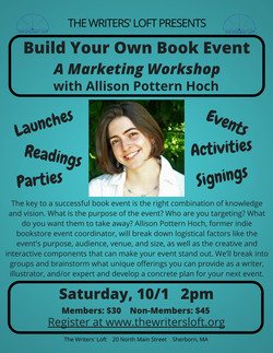 2016-10-01 Build Your Own Book Event