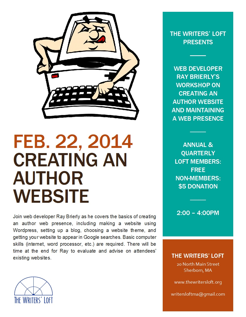 2014-02-22 Creating Author Website