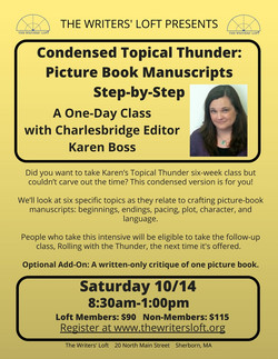 Topic Thunder One-Day Intensive