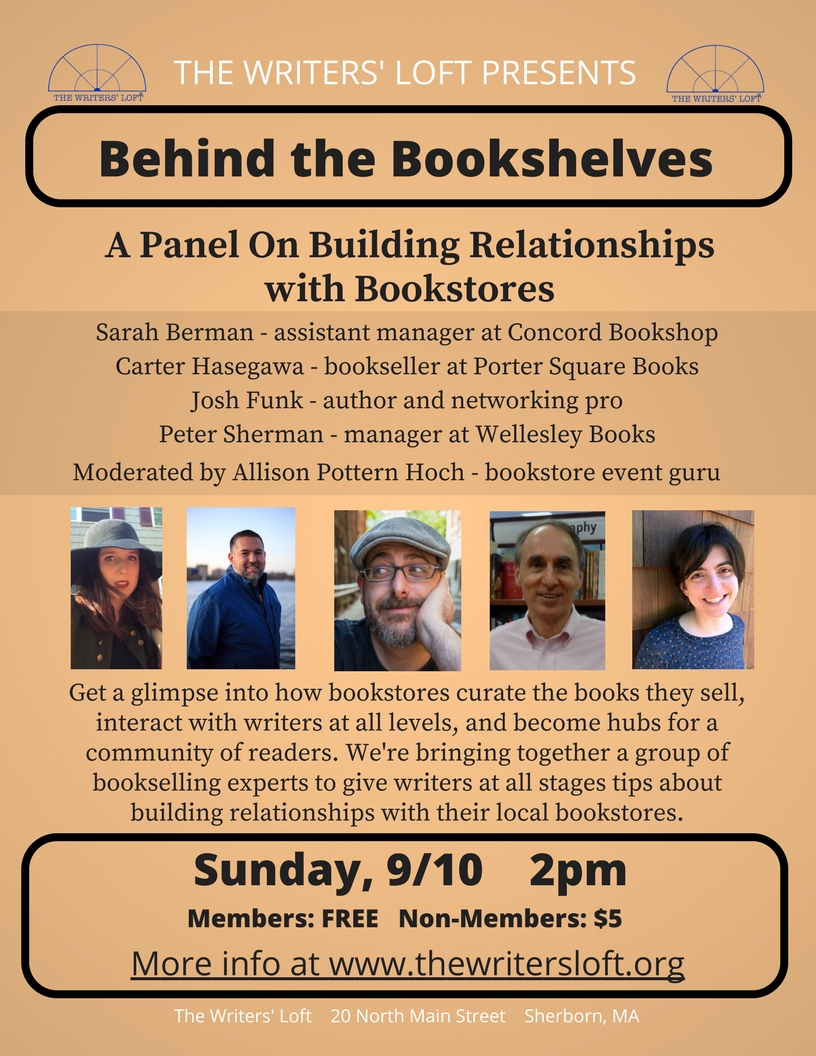 Bookseller Panel Flyer