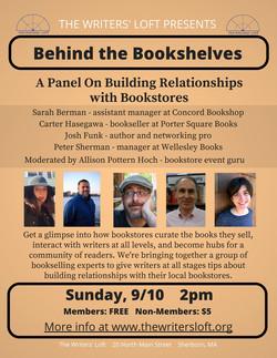 Bookseller Panel Flyer
