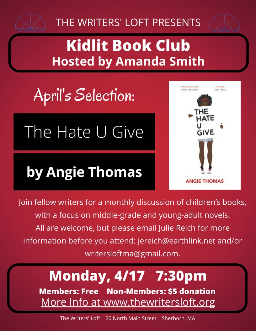 KidLit Book Club 4.17