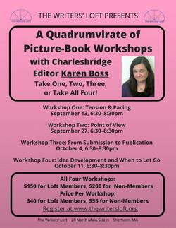 Karen Boss Four Workshops