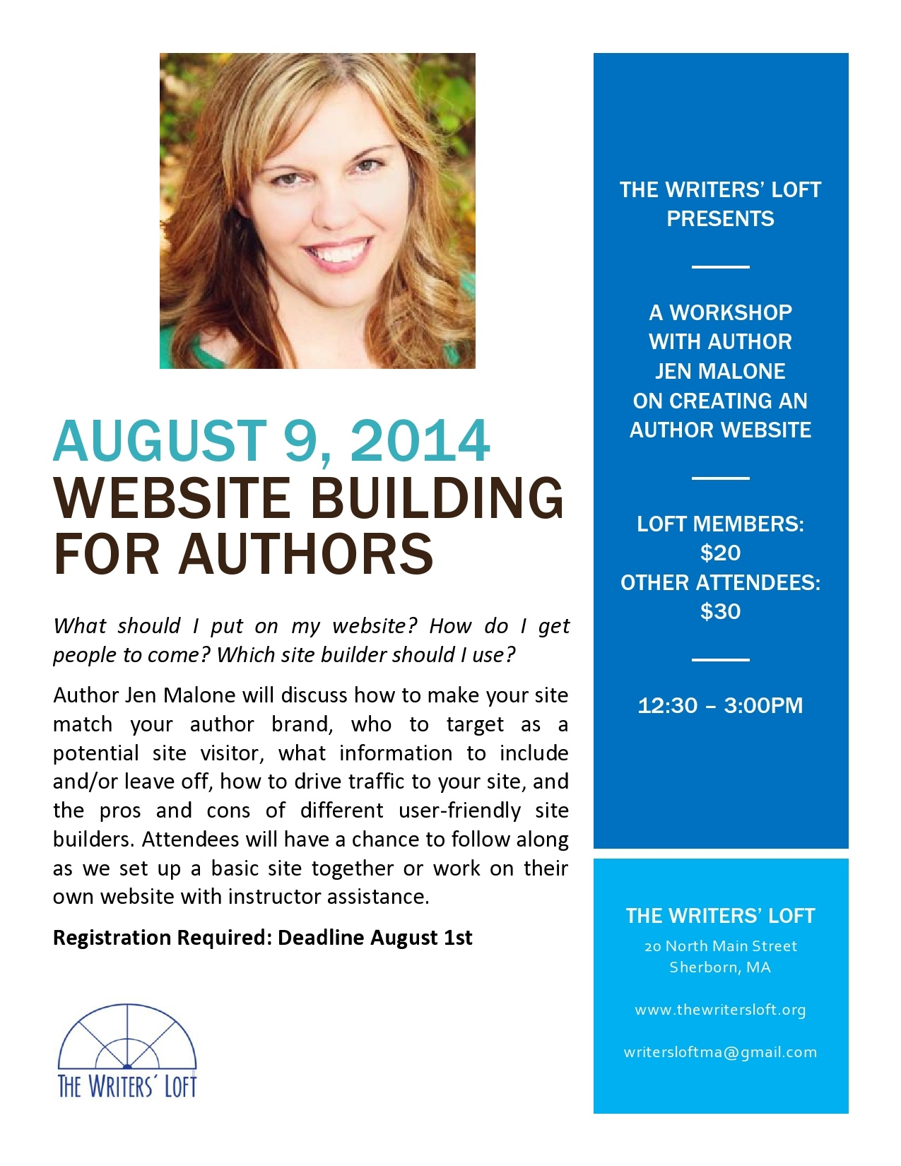 2014-08-09 Website Building For Authors