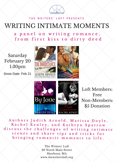 2016-02-20 Writing Intimate Moments